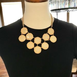 Jewelry - Gold & Pearl Collar Necklace - Adjustable